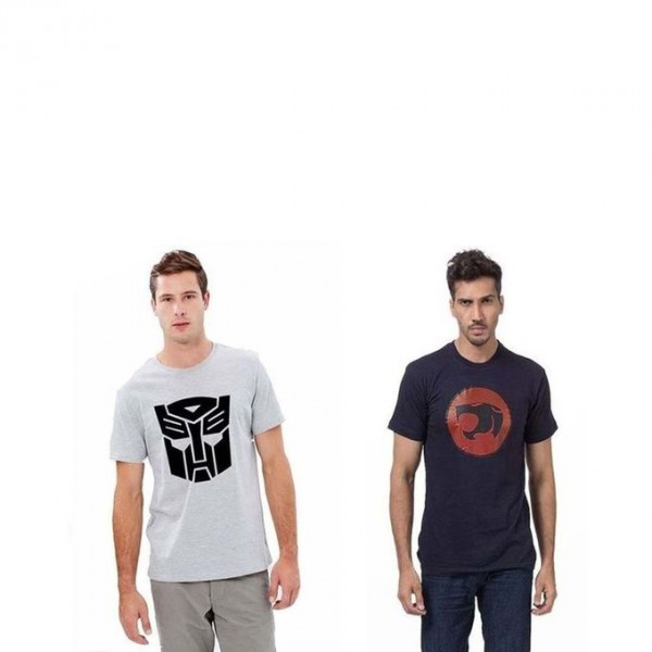 Pack of 02 Super Heroes Graphics T shirt For Him