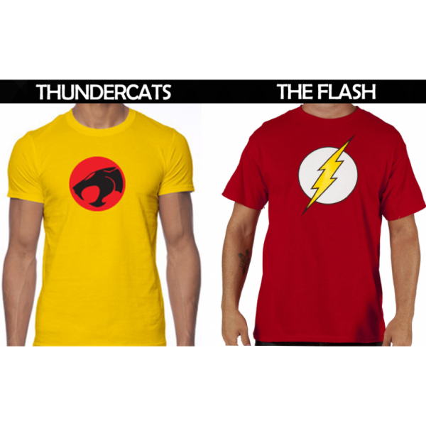 Pack of 02 Super Heroes T shirt