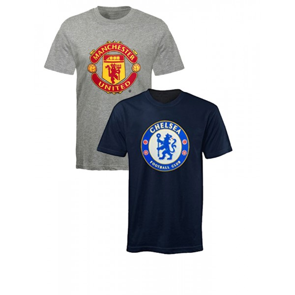 Pack of 02 Soccer Printed T shirts