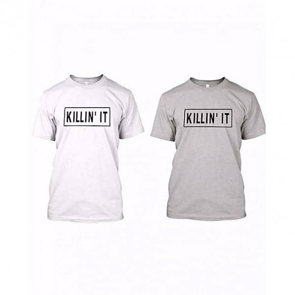 Pack of 2 Half sleeves t shirts for him