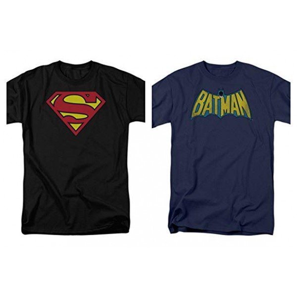 Pack of 2 Superheroes half sleeves t shirt for him