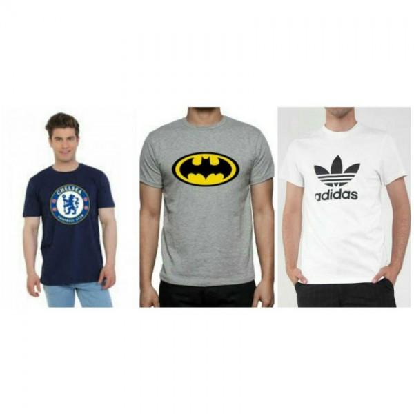 Bundle of 03 Cotton T shirts For him