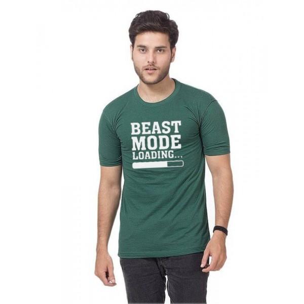 Green Beast Mode T-shirt For Him