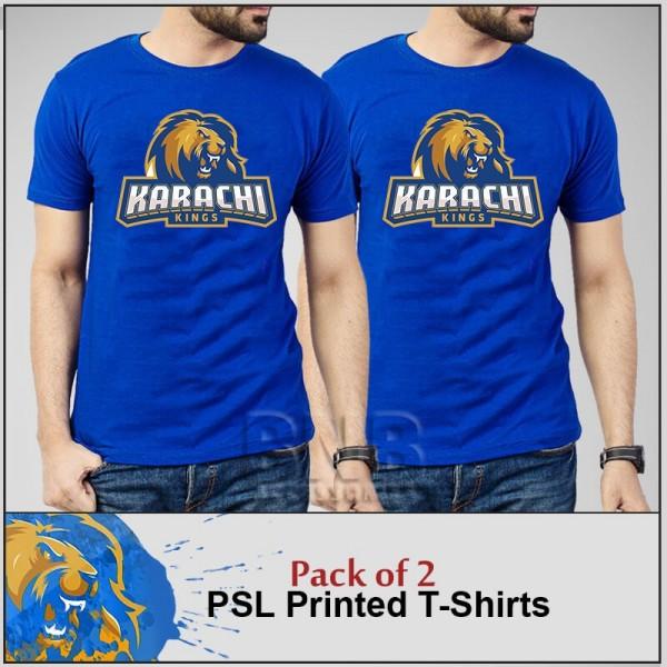 Pack of 02 Karachi King T shirts