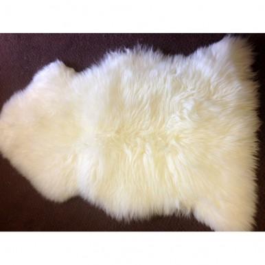 Natural Ivory Sheepskin Rug - Supersoft 2x3 ft