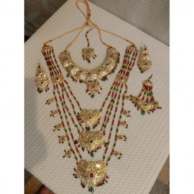 New Collection of Choker Partywear style  jewellery sets With golden  work