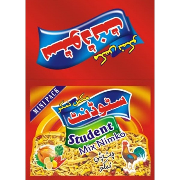 Fresh  Delicious 18 Packet Student Nimko