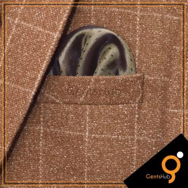Deep Green Dots Style Pocket Handkerchief for Men