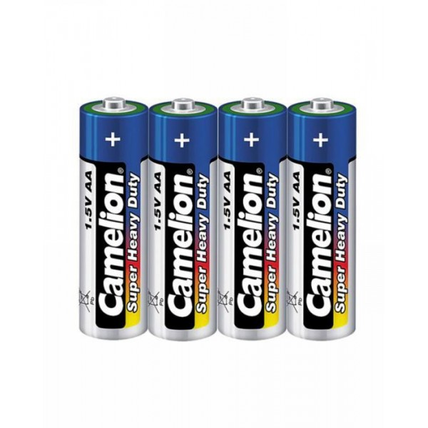 Battery AA Camelion Heavy Duty 4 Cell Pack