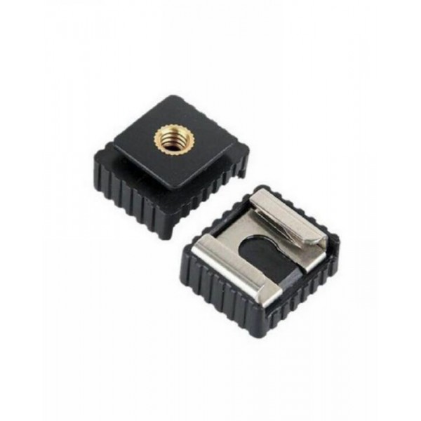 Flash Hot Shoe Mount Adapter to 1-4