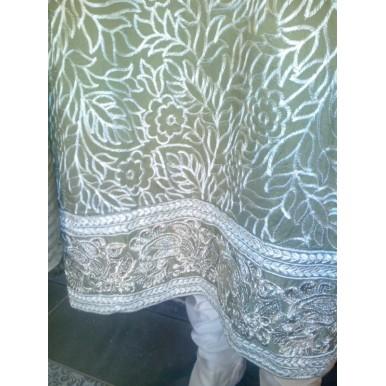 Casual Summer Wear - Heavy Embriodery Ladies Dress