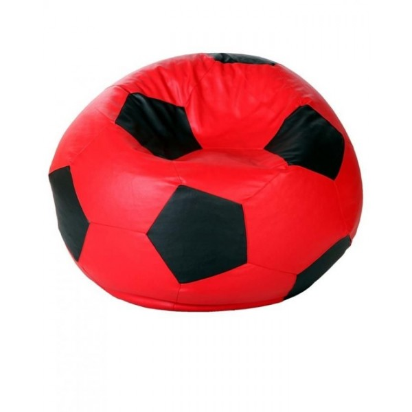 Football Bean Bag Red