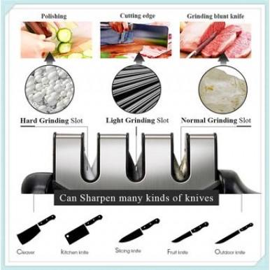 3 Stage Knife Sharpener for Kitchen