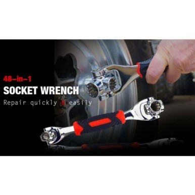 Multifunctional 48 in 1 Universal Socket Wrench