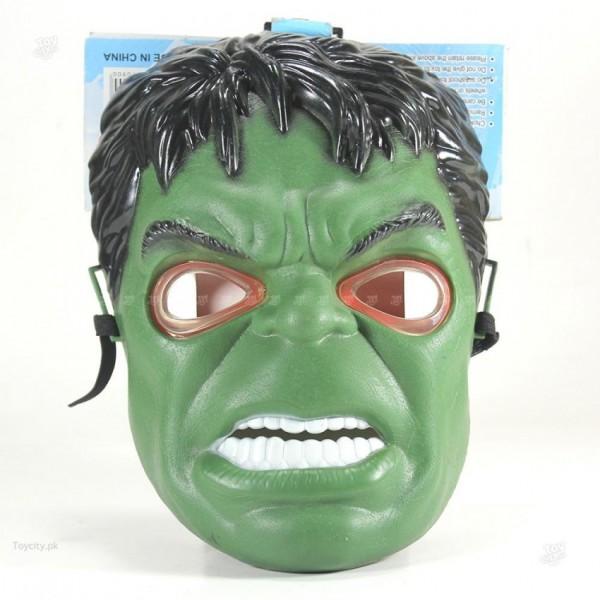 Super Hero HULK Toy Mask Led light Full Face Mask For Kids