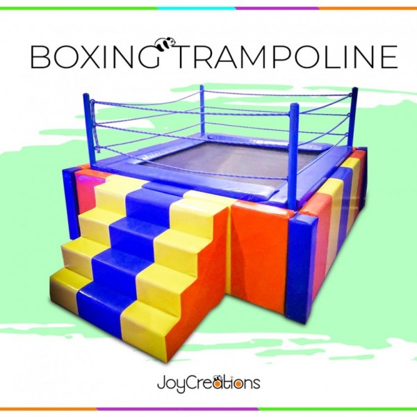 6 x 6 Soft Padded Boxing Trampoline