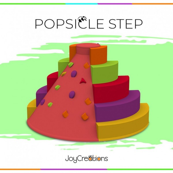 Popsicle Steps Toddlers & kids Activity/ Toy / Game With Soft Climbing Holders