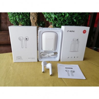 i7 mini TWS Airpods True Wireless Bluetooth Sports Earphones In-Ear Music Hands-Free for Smartphones