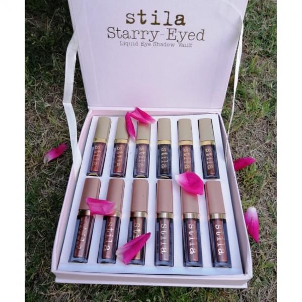 Stila Starry Eyed Vault Liquid Eye Shadow Set Pack of 12