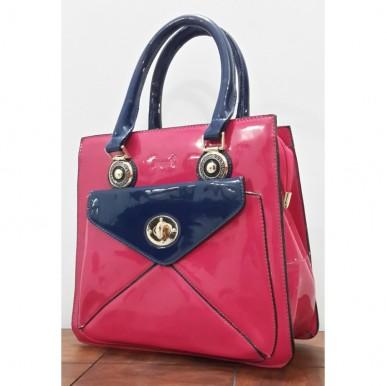 Stylish Pink Ladies Handbag - High Quality