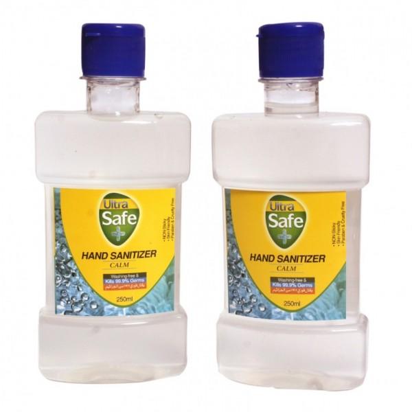 Ultra Safe Hand Sanitizer 250ml Pack of 2