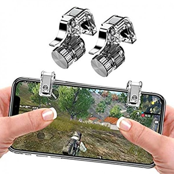 PUBG-Fortnite Mobile Gaming R11 Triggers Controller Shooter Game Controller Trigger for all android and ios mobile phones