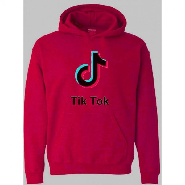 Unisex Tik Tok Hoodie in Pink Color