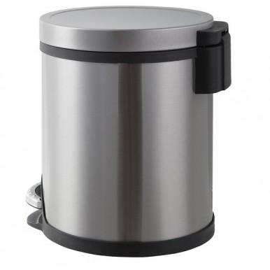 Metal sliver Dustbin