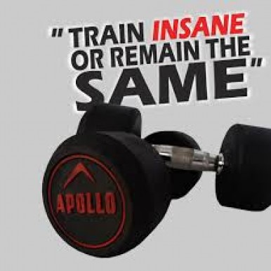 5KG APOLLO RUBBER COATED DUMBBELLS SET