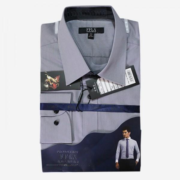 FFLX Grey Color Formal Shirt For Men