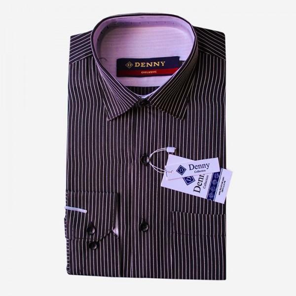Denny Cotton Formal Shirt For Men in linning