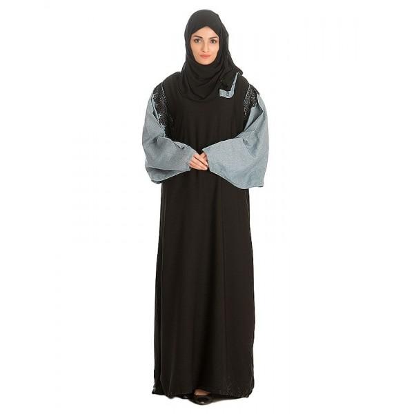 Black Nadha Abaya For Women - AIP-011