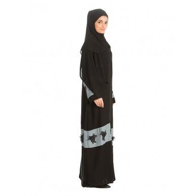 Black Nadha Abaya For Women - AIP- 010