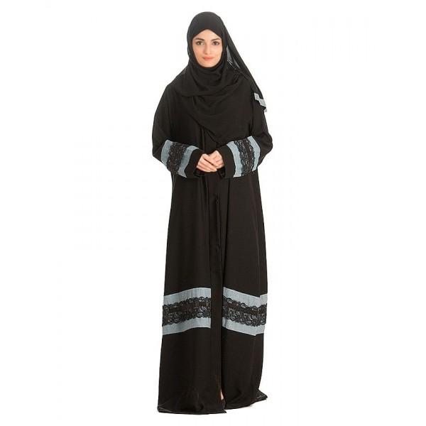 Black Nadha Abaya For Women - AIP-009