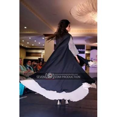 Irum Fawwad Classics - Black Partywear Dress For Her