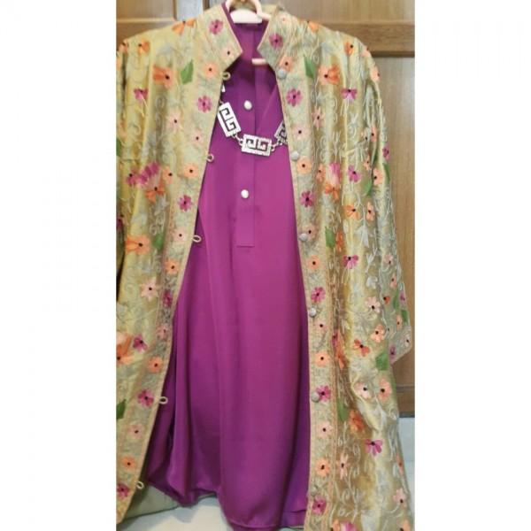 Irum Fawwad Collection - Hand Embroidered Khasmiri Coats A7