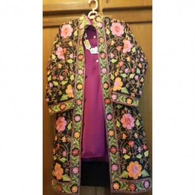 Beautiful Hand Embroidered Khasmiri Coats For Her A2