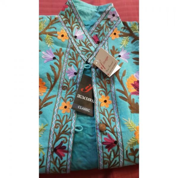 Irum Fawwad Classics - Embroidered Khasmiri Coats For Her A3