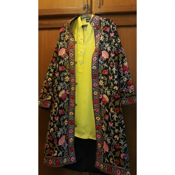 Beautiful Hand Embroidered Khasmiri Coats For Her A4