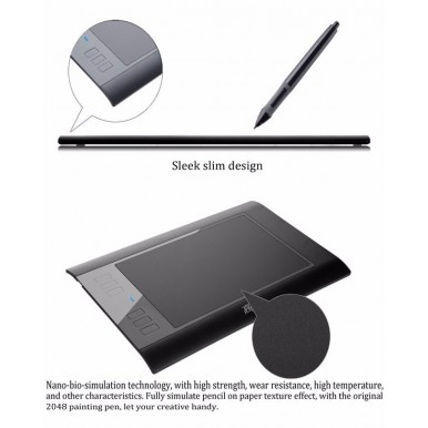 Digital Tablet Professional Signature Tablet Graphics Tablet Drawing Tablet