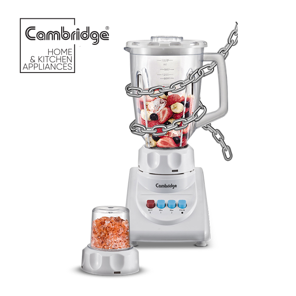 CAMBRIDGE BL-914 - UNBREAKABLE JUG BLENDER WITH MILL