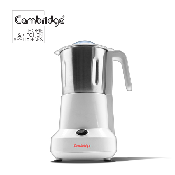 Cambridge Coffee and Spice Grinder CG 502 in White Colour
