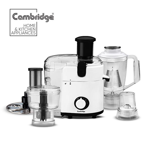 Cambridge FP 745 - Food Processor - White