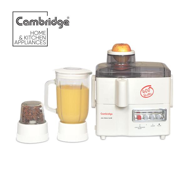 JB68 - Cambridge apple juicer 1 liter glass jug - 400W - White