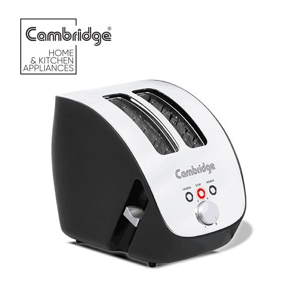 cambridge Official TT 3116 - Toaster - Silver