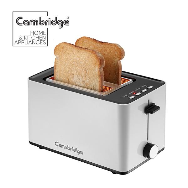 Cambridge TT318 - Toaster in Silver Color