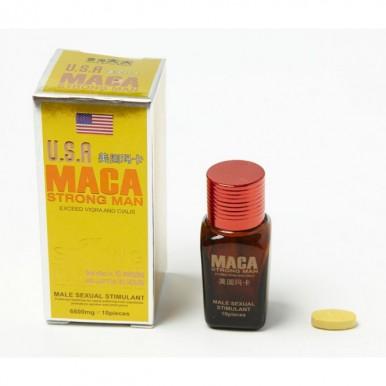USA Maca Strong Man 10 Pills