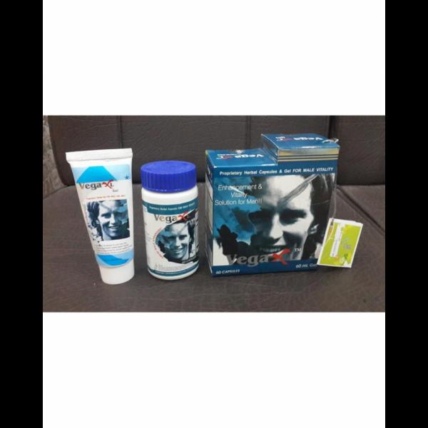 Vega XL Male Enhancement Formula Gel And Capsules (Indian)