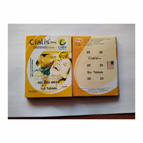 Buy Cialis 20mg 6 Tablets Card For Men Made In Usa Online In Pakistan Buyon Pk