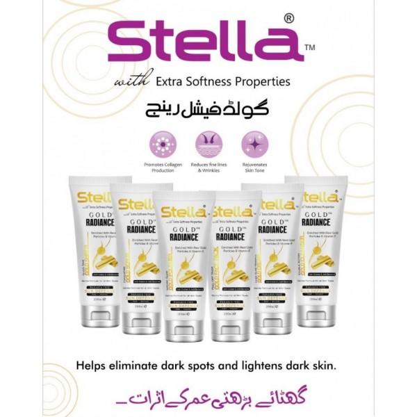 Stella 24K Gold Facial 6 Step 200ML